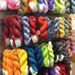 A small selection of the inventory at Unraveled Sheep in Sandy.
